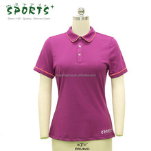 women breathable bamboo sports polo shirt active wear