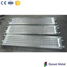 metal steel plank steel scaffold board toe board with hook
