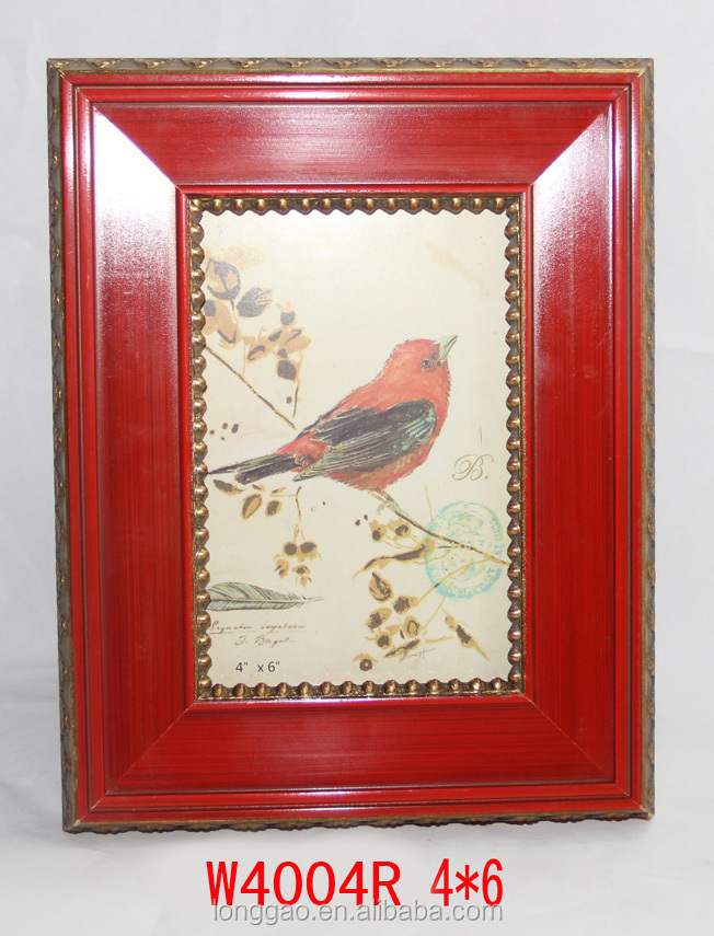 Wholesale Shadow Box Wood Photo Frame