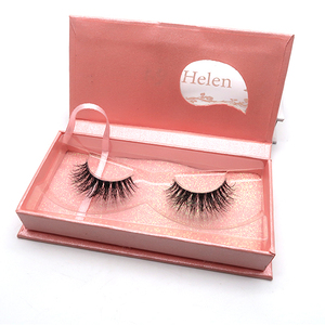 Individual band 100% real mink eyelashes