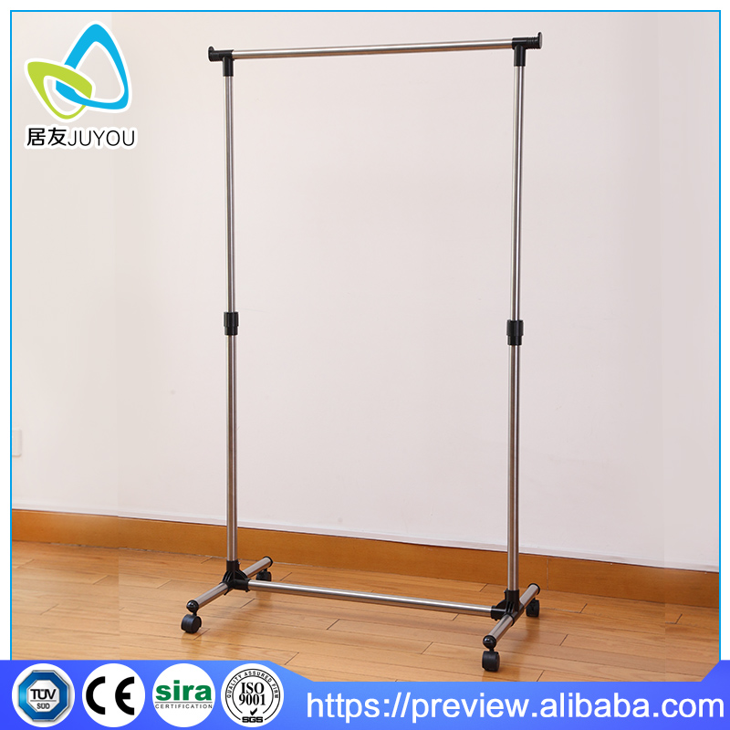 high quality metal telescopic hanging clothes drying rack