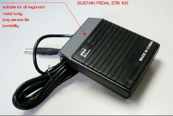 Sustain Pedal for All keyboard