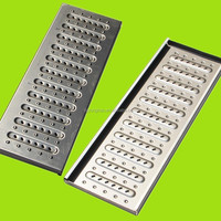 stainless steel SUS 304 roof grid trench /drain /ditch cover