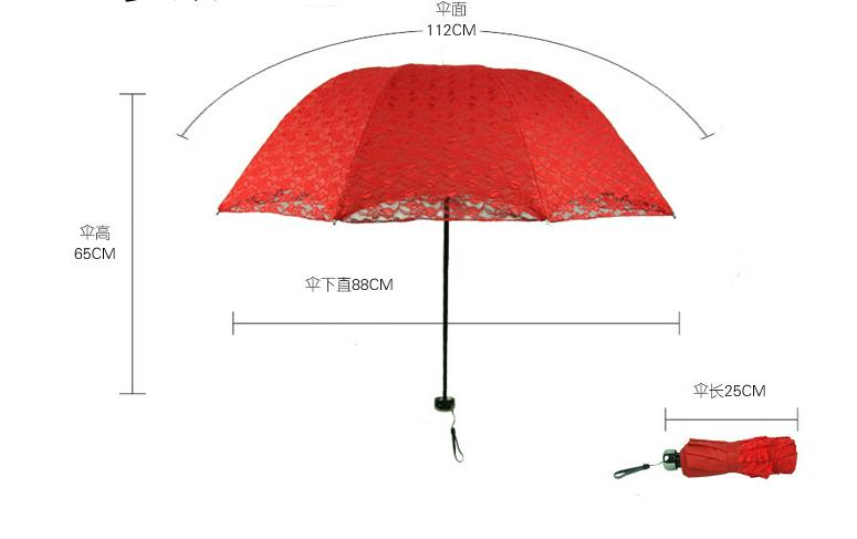 Wholesale Price with Stock and Small order Wedding umbrella with long handle lace umbrella