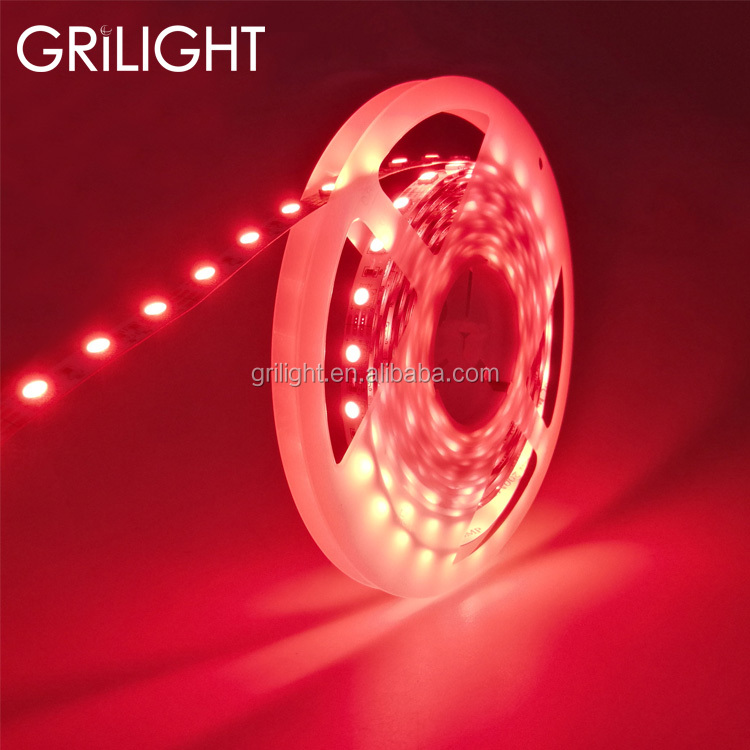 Newest 60leds per meter red blue green pink color flexible led strip