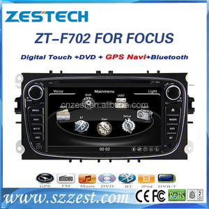 7'' 2 din Car DVD player with GPS for Ford Focus/S-max/Mondeo/C-max DVD player AM/FM USB BT TV audio MP3