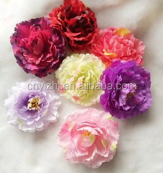 Artificial Carnations Flowers Heads Wholesale Fabric Spray ...