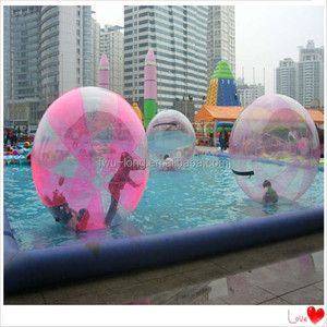CE TPU 2M Cheap price aqua inflatable ball water ball water walking ball,dancing walk on water ball,water walker for pool