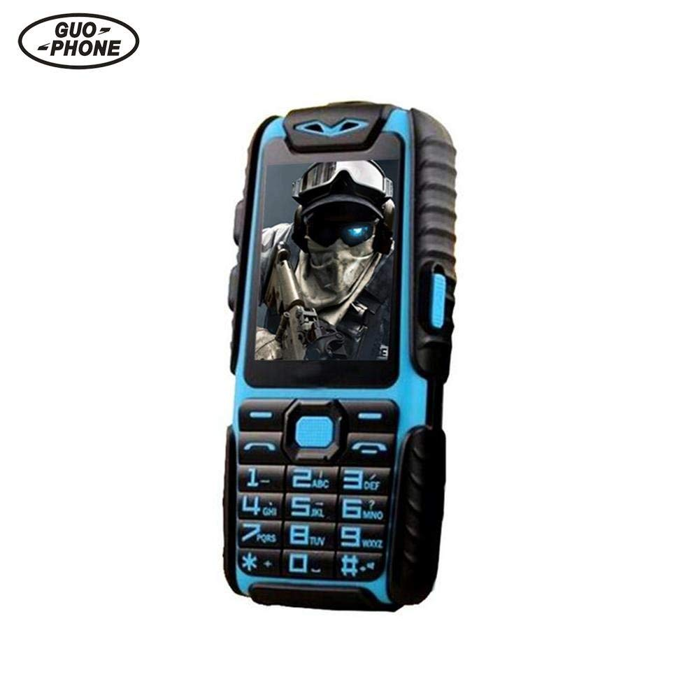 "Window-pick Senior Cell Phone A6 2.4"" ScreenDualSIMCard SingleCore0.3MPBackCameraSuit for Old Man Adults Kids Classic Portable Waterproof Basic Phones(RAM:32MB,ROM:32MB)"