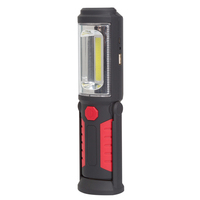 Rechargeable 3W 250 Lumens Handheld Work Light Portable COB LED Inspection Work Light