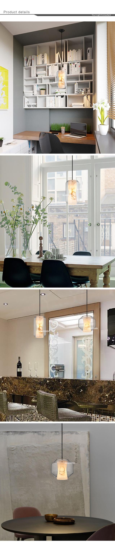 Marsden Moderne Marmeren Lamp Steen Glas Shade Led Hanglamp Voor ...