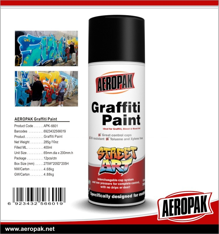 Aeropak Graffiti Cleaner And Remover Paint Remover Cleaner