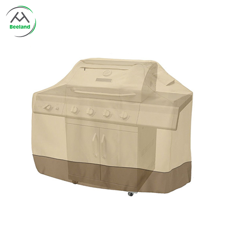 Weather resistant heavy duty waterproof outdoor bbq grill cover barbecue cover
