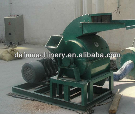 Low price sawdust wood processing machine from Henan Dafu
