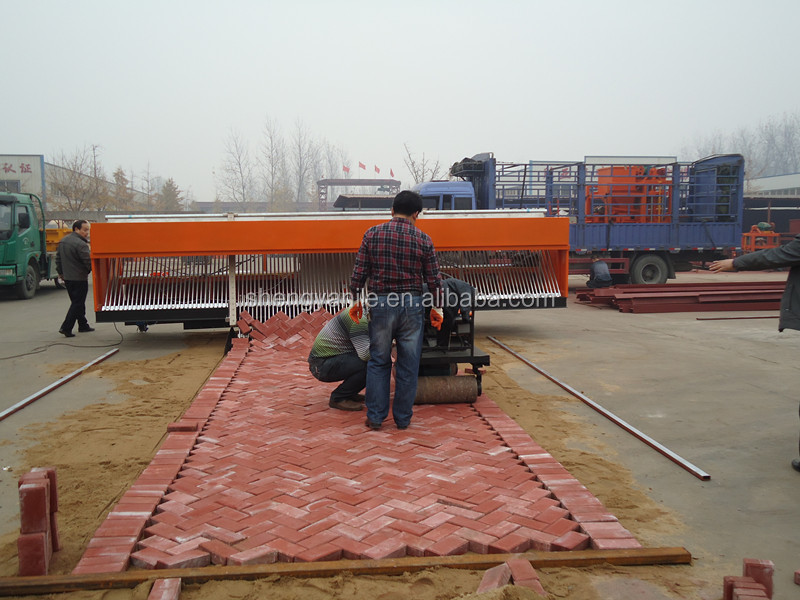automatic brick laying machine