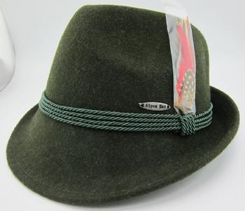 ea3e3594 Green Oktoberfest Bavarian German Alpine Hat - Buy Bavarian ...