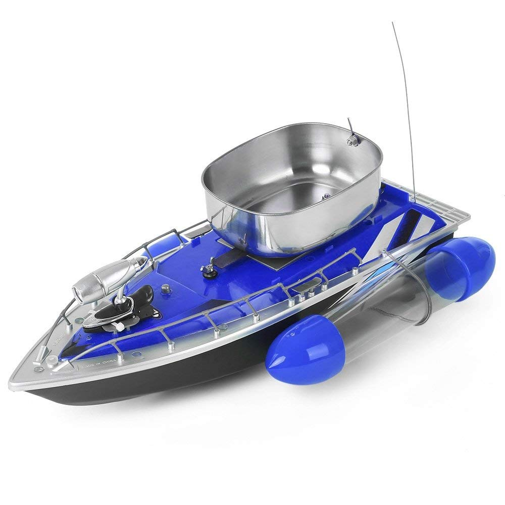 Intelligent nesting boat remote control fishing fight nest wireless control bait boat feeding boat blue EU plug