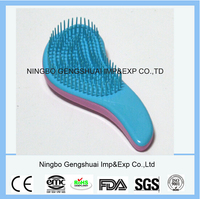 Hot Sell New Detangling Hair Brush, Plastic Magic Hair Comb with different colors