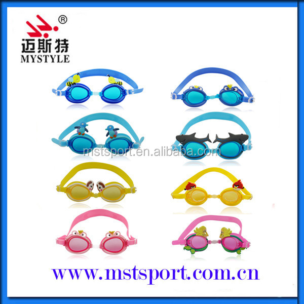 New style cartoon swim goggles