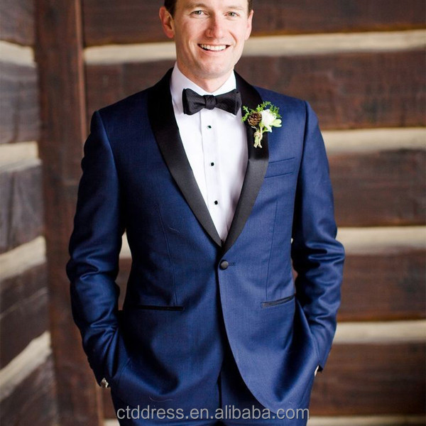 Royal Navy Blue Men Formal Suit - Buy Navy Blue Men Suit,Royal ...