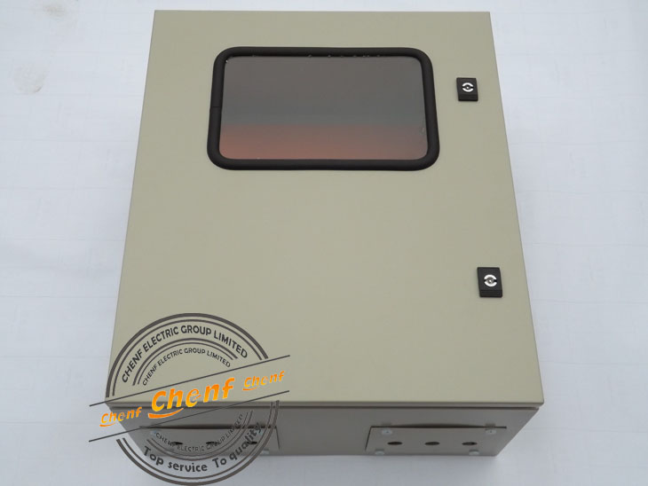 2014 Newest RAL7032 Color Outdoor Electric Meter Panel Box With Dual Lock