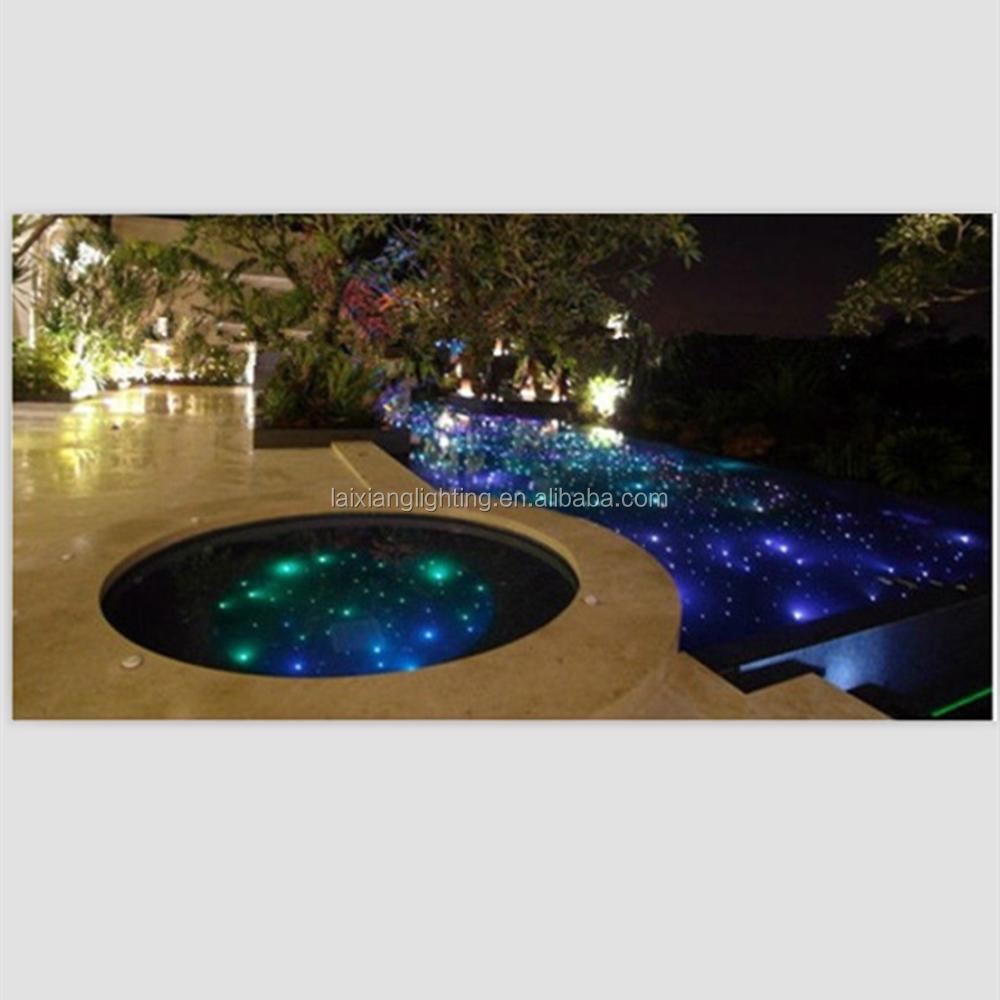 Illuminazione a pavimento per interni : Pavimento in fibra ottica star illuminazione per esterni-altre ...