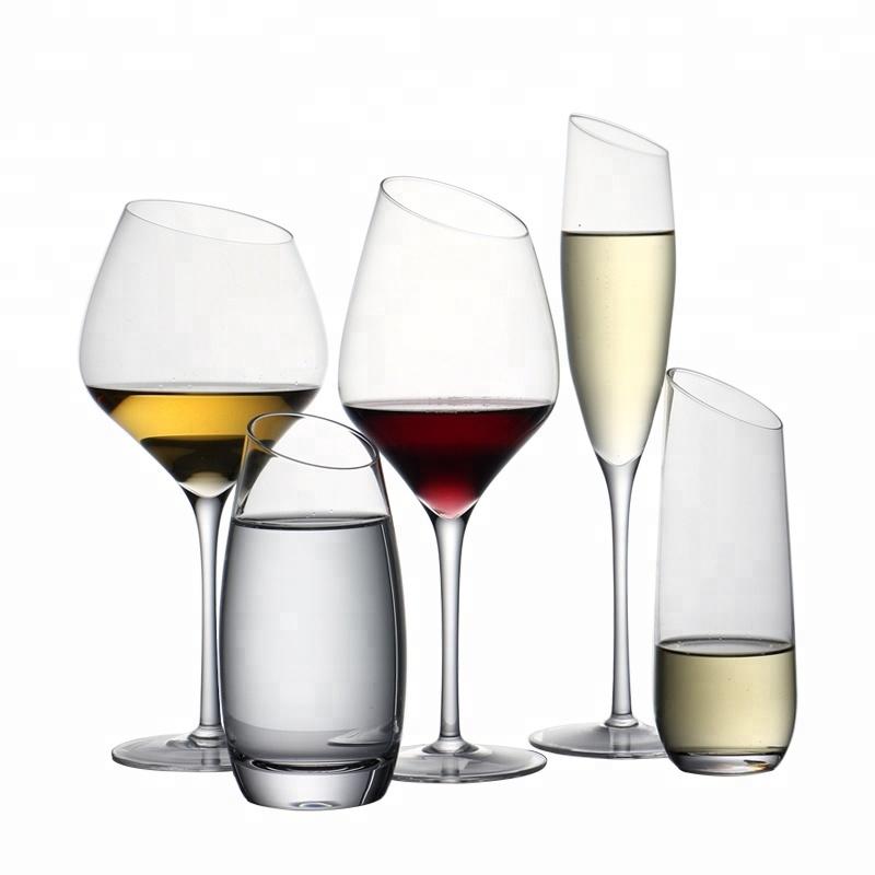 Paling Populer Kristal Miring Gelas Anggur untuk Keluarga