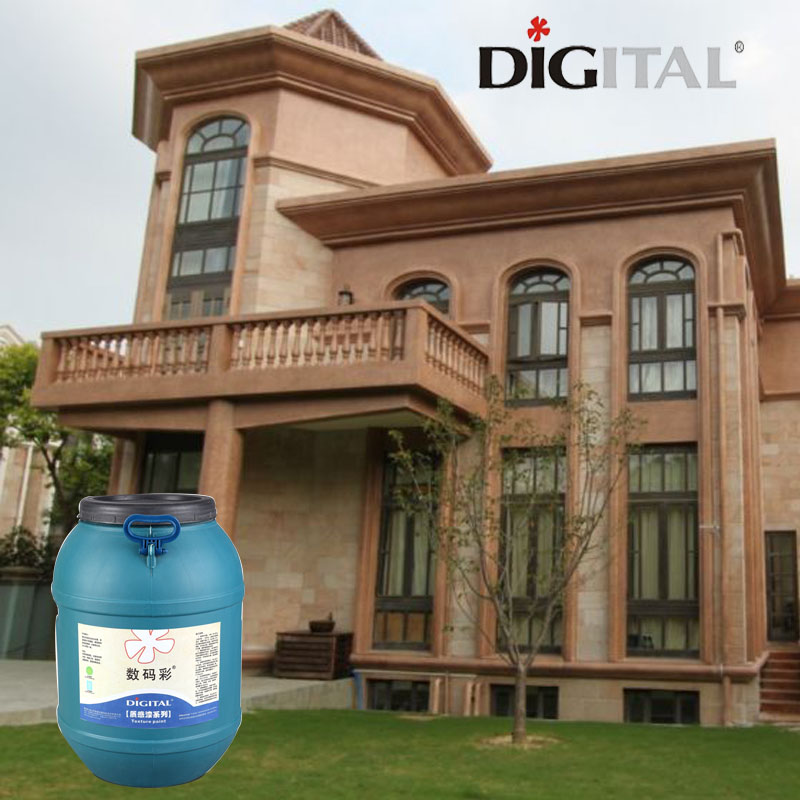 Excellent weather resistant outdoor textured paint