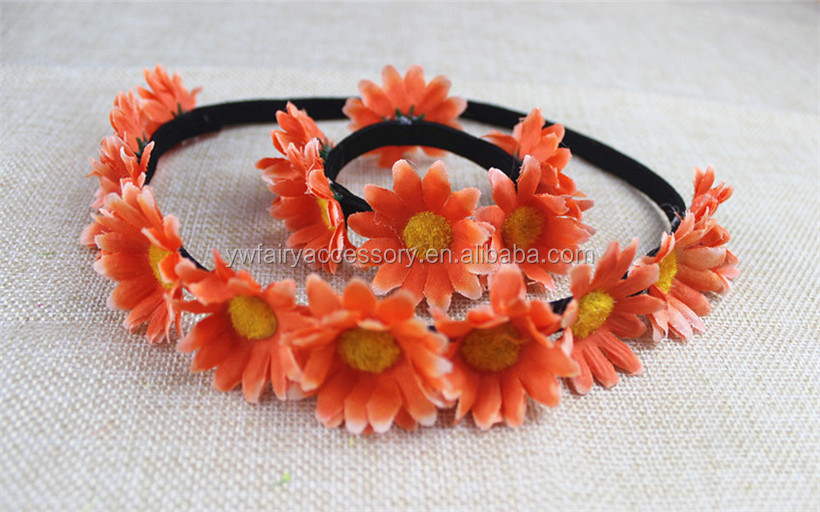 Fabric Flower Headband 374576ce659