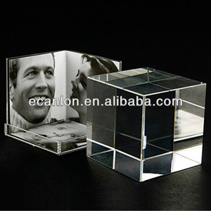 Acrylic photo box frame