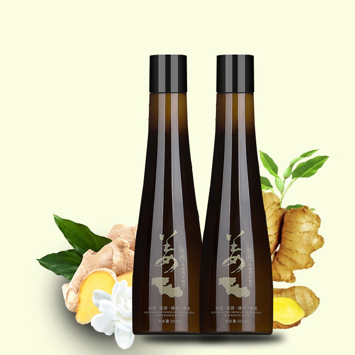 Commercio all'ingrosso ginger anti perdita di capelli forte shampoo