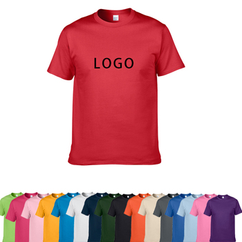 Promotional 100% Cotton white Round Neck blank T Shirt