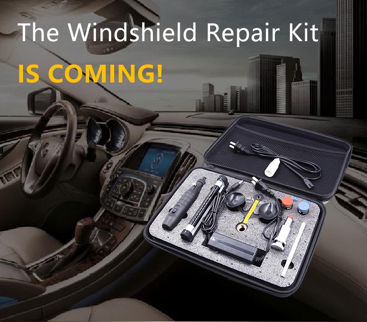 2019 أعلى المنتج معدات إصلاح الكراك الزجاج الأمامي سيارة طقم إصلاح الزجاج الأمامي