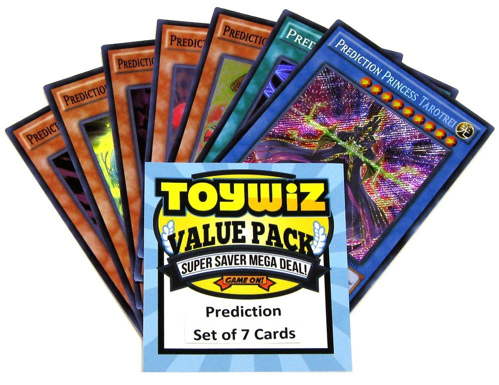 Toywiz Yu-Gi-Oh Dragons of Legend 2 Set of 7 Prediction Cards DRL2-EN030 - DRL2-EN036