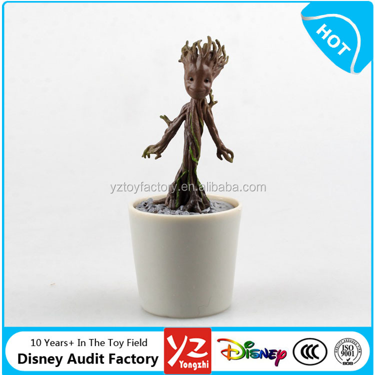 Toy Factory Direct PVC 12 cm Guardians of the Galaxy Groot Marvel Action Figure