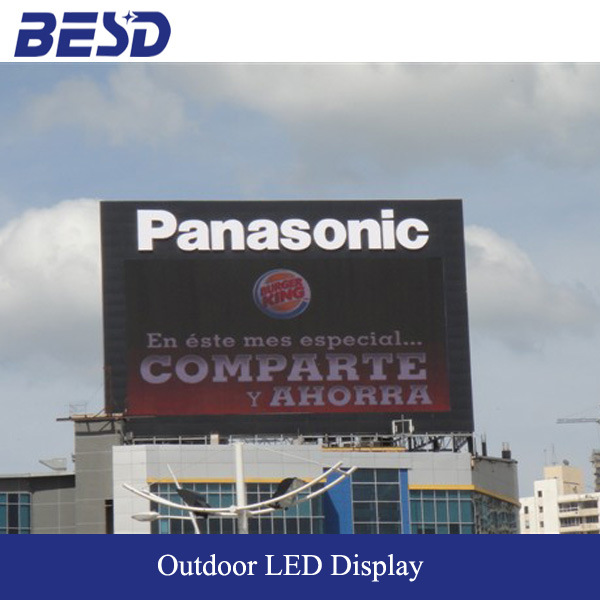 Alibaba express BESD high quality Full Color p16 p20 p25 led screen display panel outdoor price