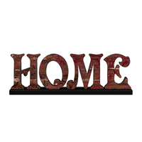 Antique Home Decorative Wooden Words