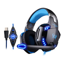 R611 Led Gaming headset with 7.1 Surrounding Sound and Vibration Effect