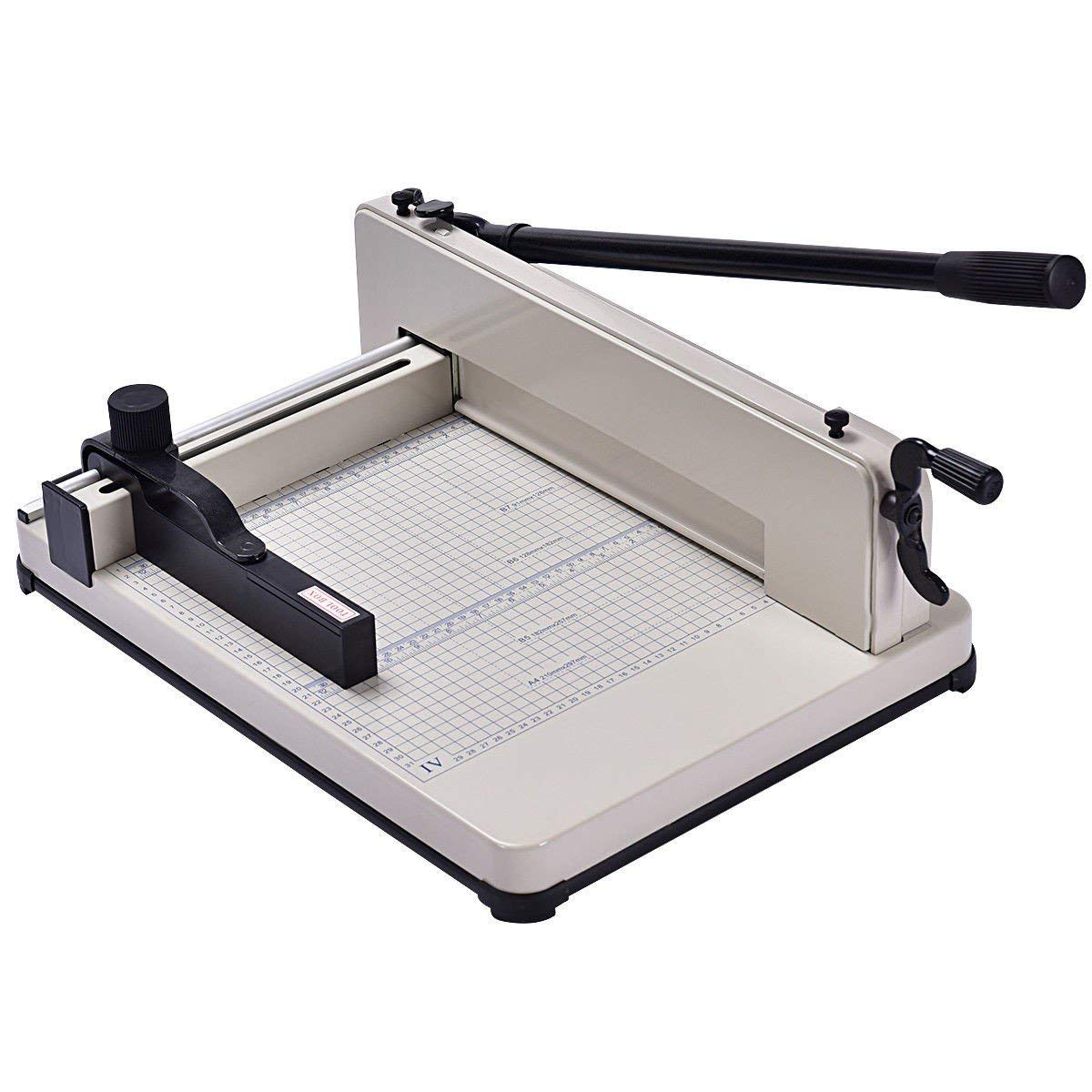Paper Cutter Trimmer Machine A4 Size 12 inch Heavy Duty Steel Blade Office Cutting Tools MD Group