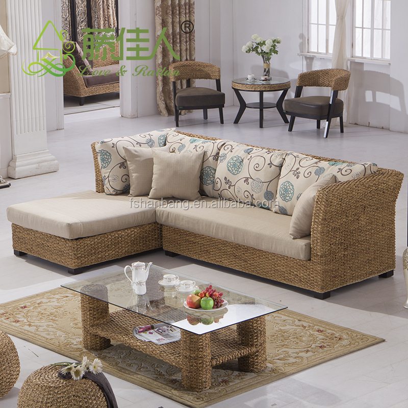 Seagrass Sectional Sofa Furniture Design