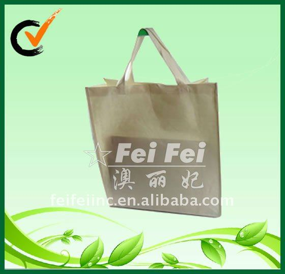 Natural and eco-friendly bamboo fiber bag for shopping