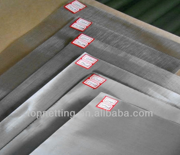 Black annealed stainless steel Anti radiation mosquito net fabric/mesh/cloth