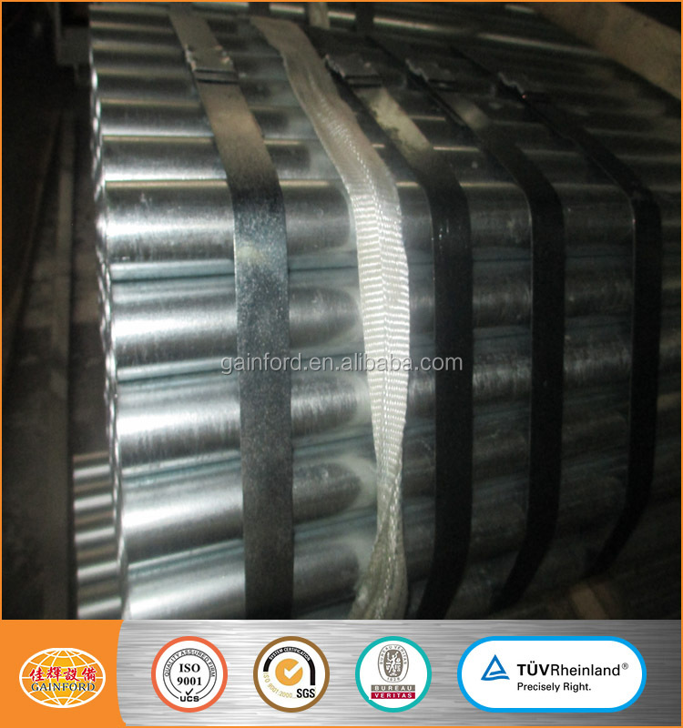 large diameter galvanized pipe