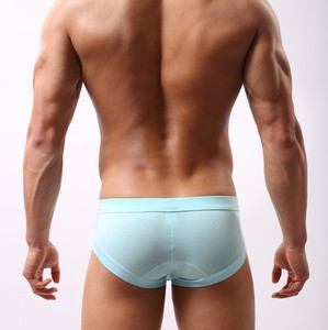 ST3001 Modal Solid Men Brand Underwear Slip Briefs Panties 2015 New low rise Sexy Briefs for male Soutong