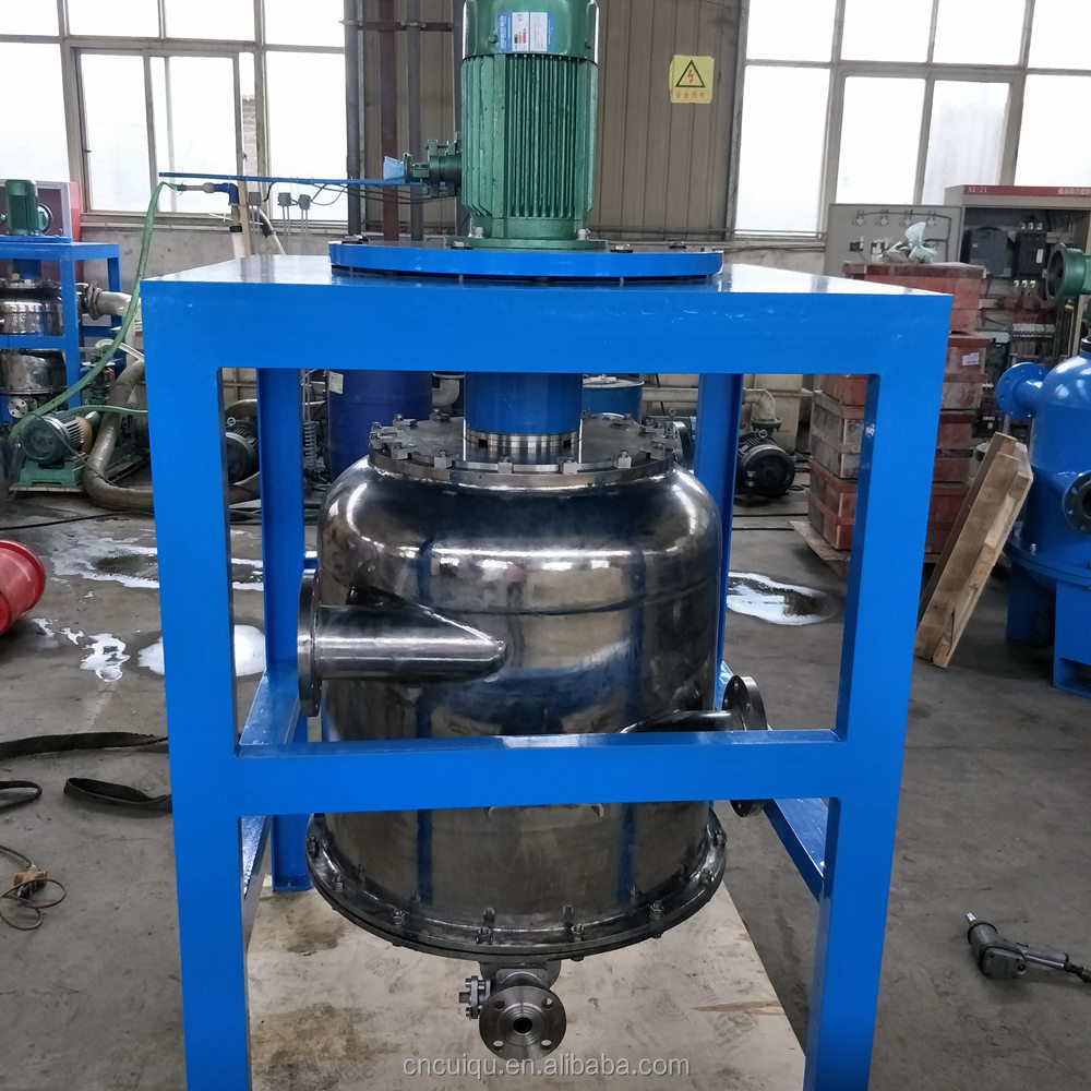 centrifugal force liquid gas separator