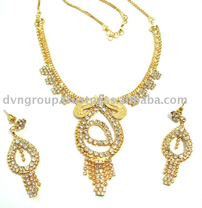 Malabar Gold Plated Necklace,Gold Plated Necklace Jewelry,Necklace ...