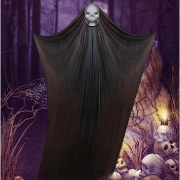 3m Scary Halloween Props Hanging Flying Ghost Skeleton Decorations For Outdoor And Indoor Party Buy Hanging Flying Ghost Decorations Halloween
