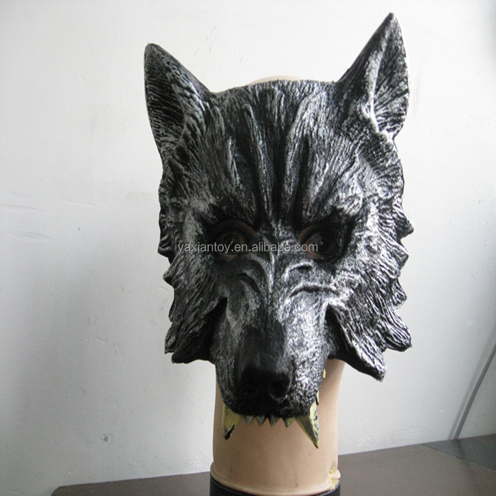 2015 New Design Factory Direct Sale Halloween Party Dance Costume Halloween Wolf Mask For Halloween Party