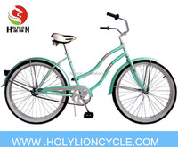 coaster brake beach cruiser in lady style for riding