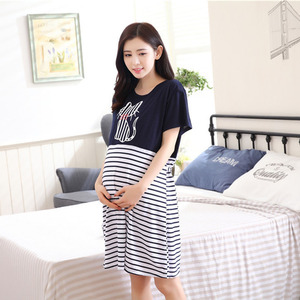396a98001b4 Pregnancy  amp  Maternity Pajamas Sleepwear Nursing Pregnant Pajamas  Breastfeeding Nightgown Elegant Maternity Nursing Clothes Dress